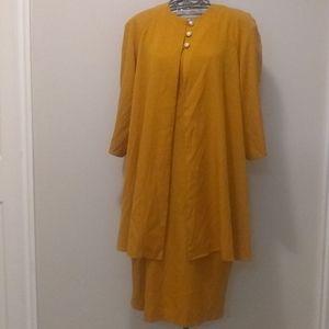 Whirlaway Frocks vintage sheath dress & jacket